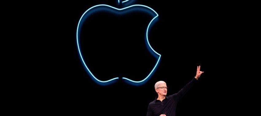 Un iPhone 12 sans chargeur dans la boîte