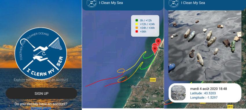 I Clean My Sea, une application pour venir à bout des déchets dans l'océan