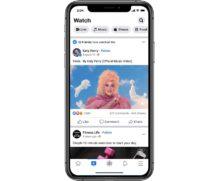 Facebook Watch : le nombre d'utilisateurs actifs continue à croître