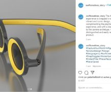 Des lunettes proposant les filtres de la plateforme Snapchat