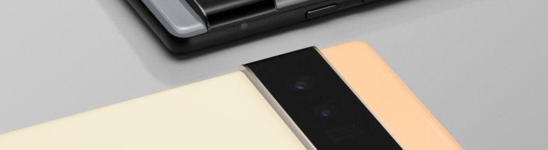 Pixel 6 et 6 Pro, smartphones de Google avec puce intelligente Tensor