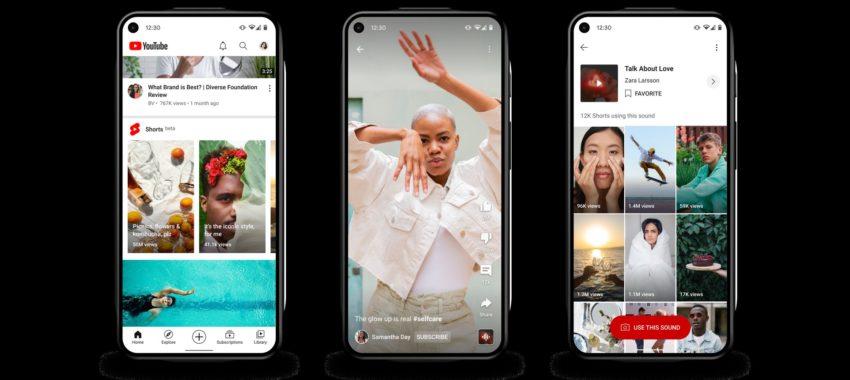 YouTube Shorts face à l'appli smartphone Tik Tok !