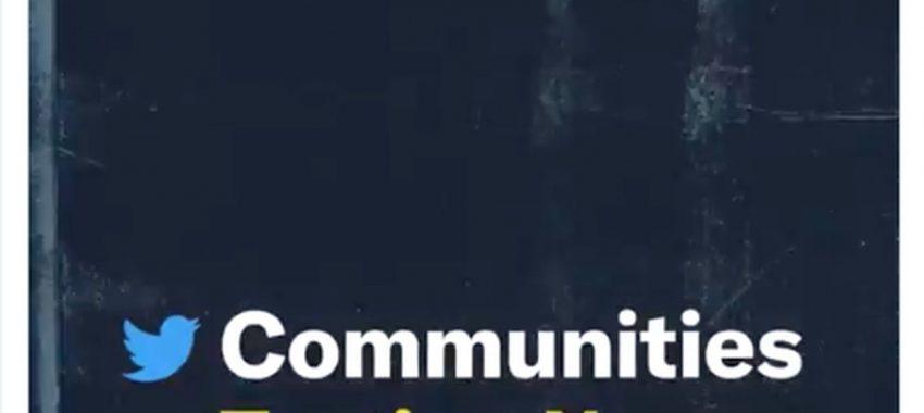 Twitter : le réseau social annonce le lancement de « Communities »